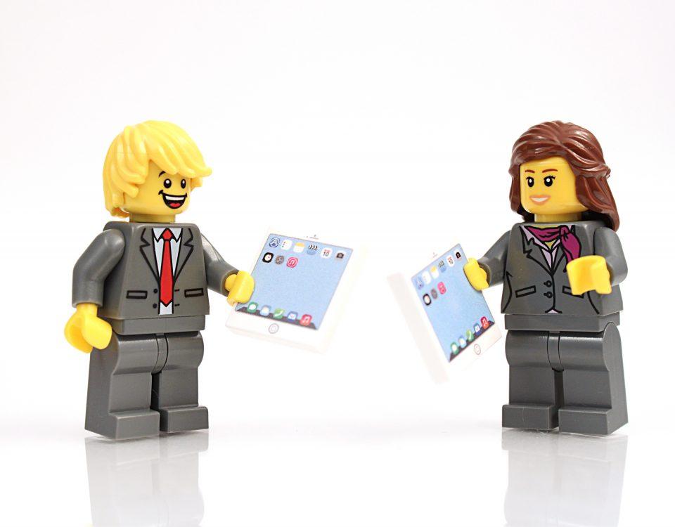 Lego Figurines Diskutieren